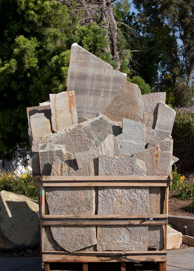 Quartzite flagstone modern builders supply mobile Flagstone patios colleyville tx