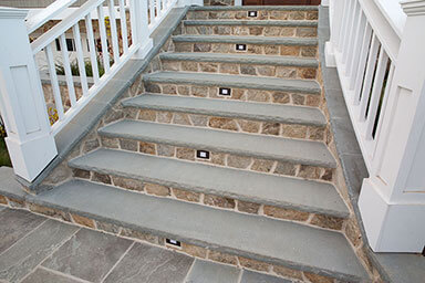New York Bluestone Flagstone Stairtreads U0026 Wall Caps