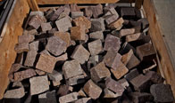 Grey Brown 4″ x 4″ Cobble