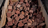 Red 4″ x 4″ Cobble