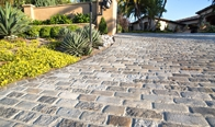 Historical Granite Cobblestones Salt & Pepper