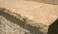 Southern Buff Limestone Roughback Finish