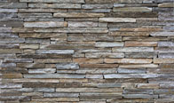 Silver Quartzite Contemporary Ledge Thin Veneer
