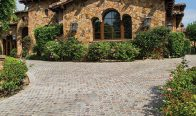 Camparta Red Gold 4×4 Cobble Porphyry
