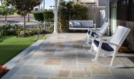 New York Bluestone (full color) Squares and Recs Paving
