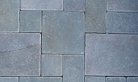Bluestone Cobble, Flamed and Tumbled Finish