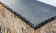 Imperial Black Limestone Tumbled