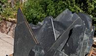Obsidian Black Flagstone