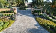 Historical Granite Cobblestones Salt & Pepper