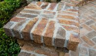 Glen Gerry Atlanta Handmade Brick Wall Cap and Paving