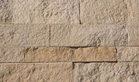 Southern Buff Limestone Splitface Drystack Ledge