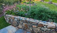 Rancho Santa Fe Rubble Wall